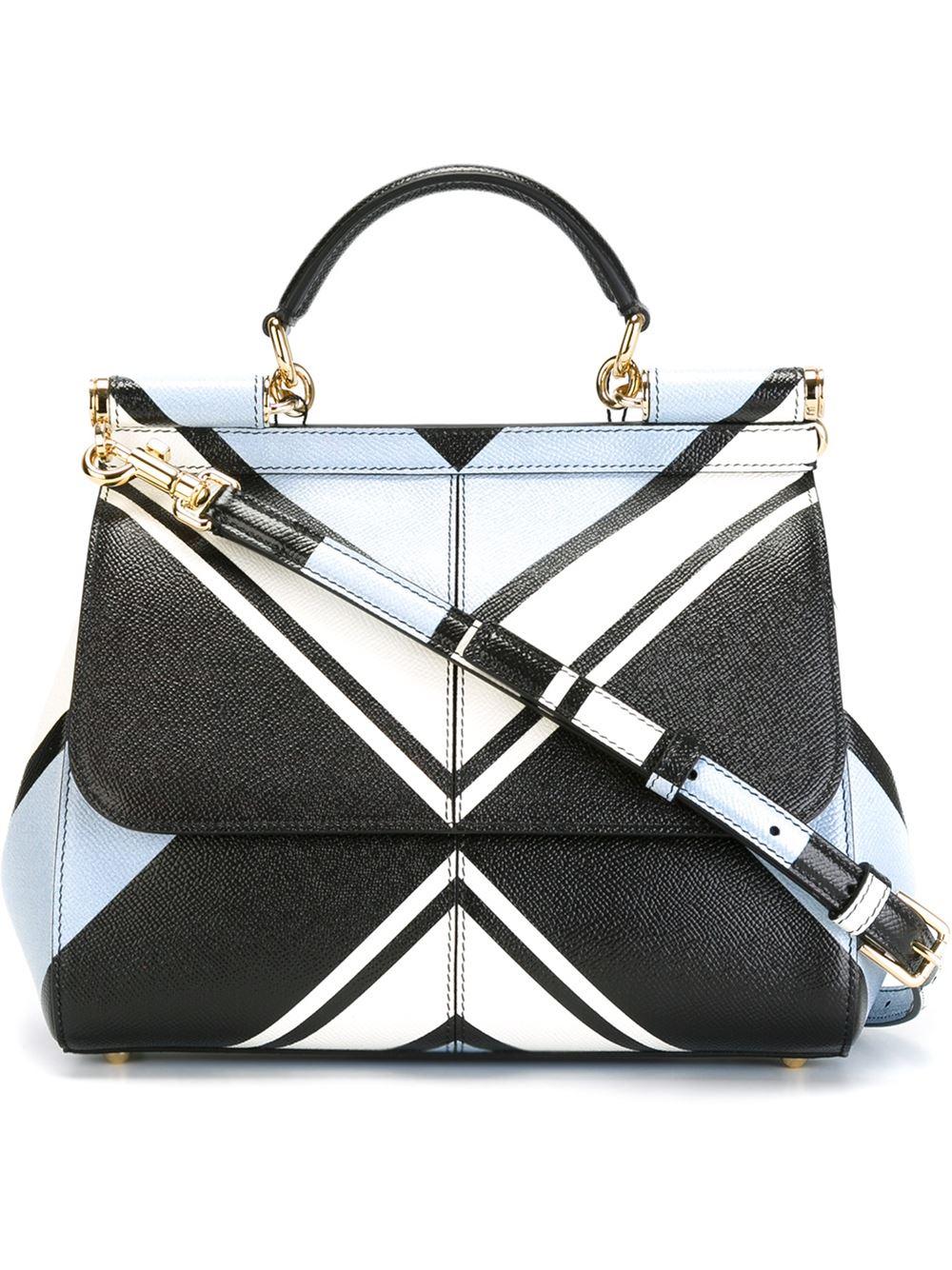 522aa71f4ebe ... Sicily Bag in Printed Dauphine Leather. 6 of 6. Save 25%. Medium  SicilyDolce Gabbana ...