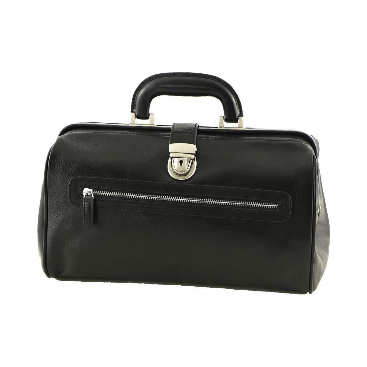 Doctor-working-bag-black