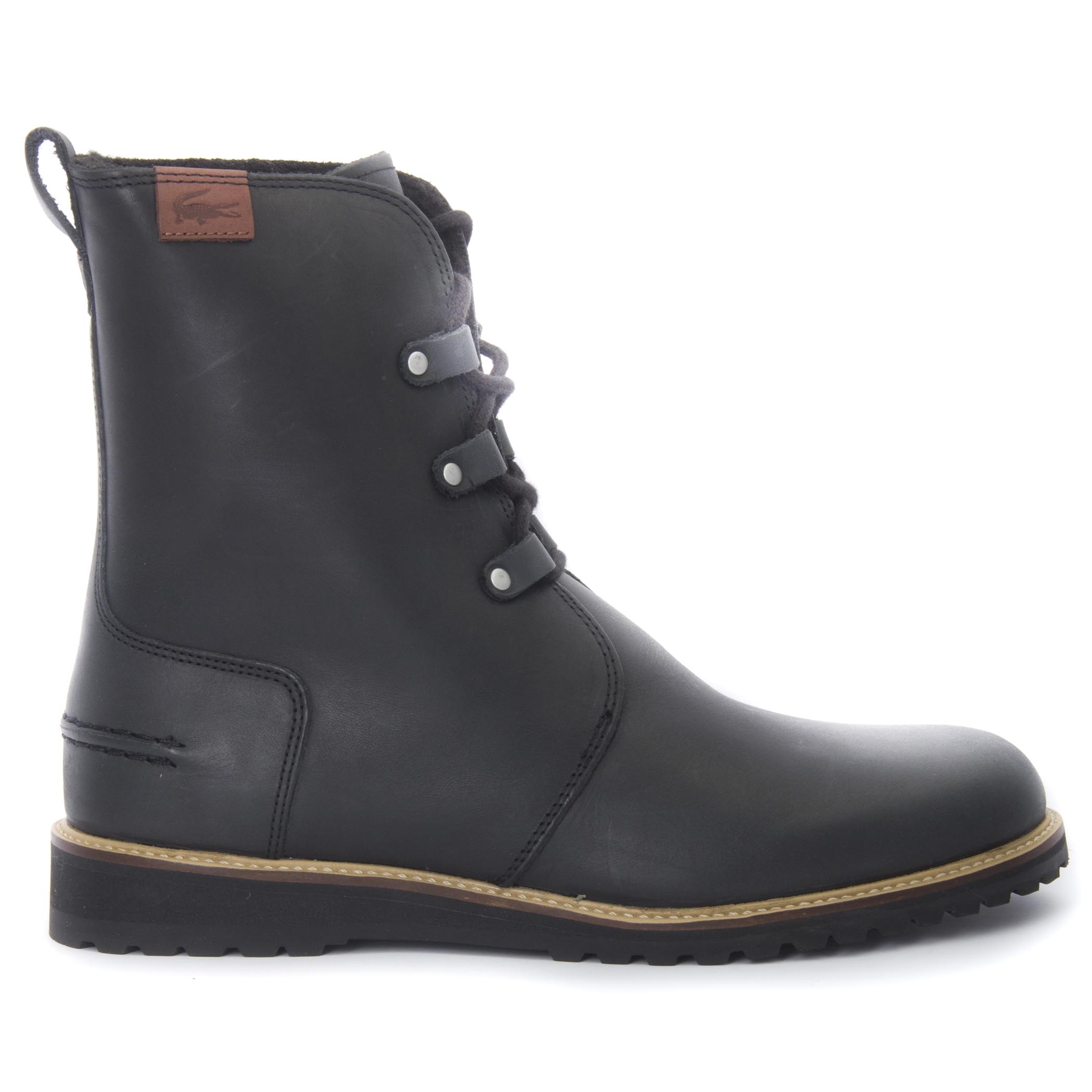 27bcd8544e36a Lacoste Women s Baylen Leather Winter Boots
