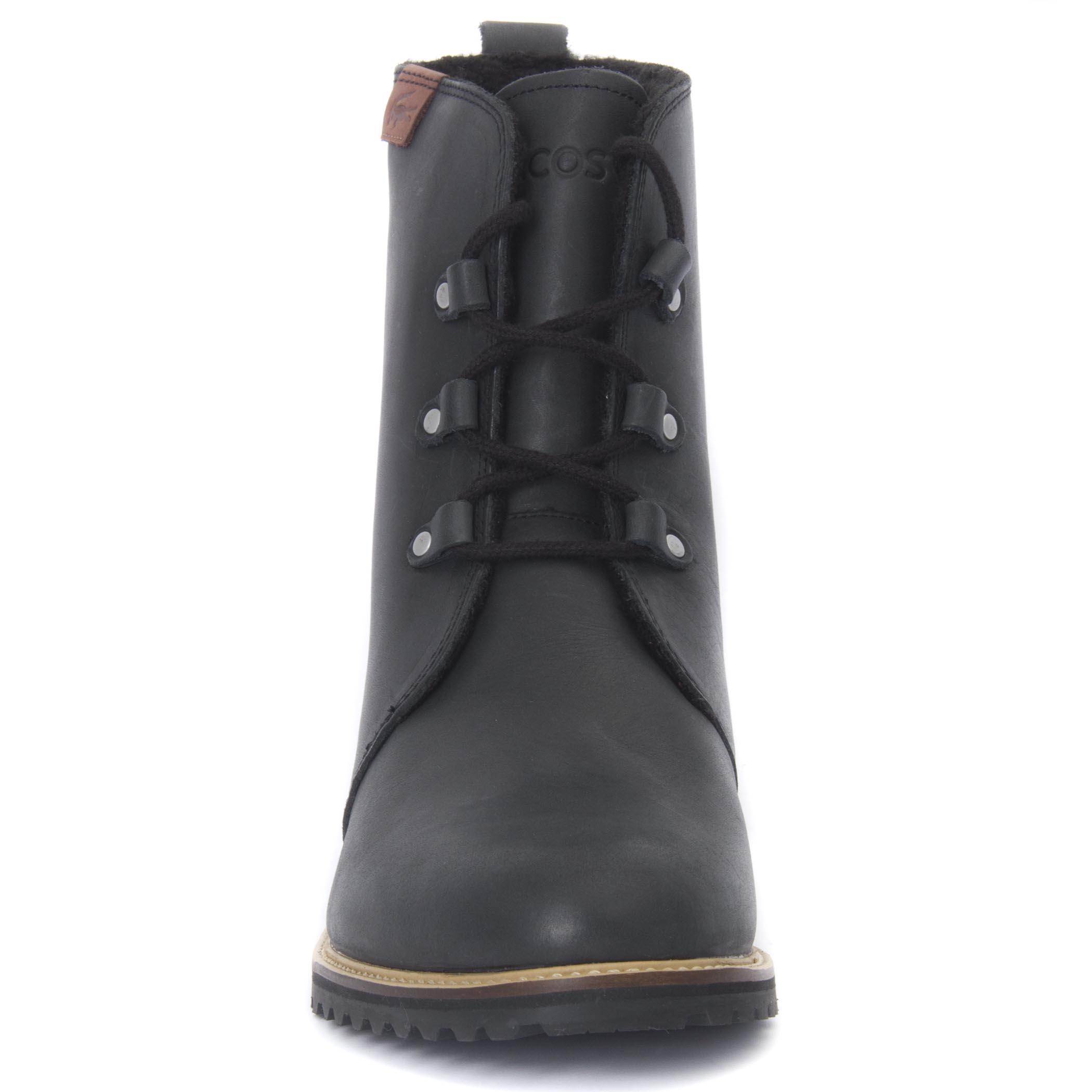 Lacoste Women's Baylen Leather Winter Boots
