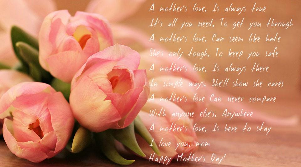Mothering sunday Uk poem