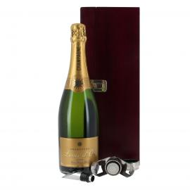 Champagne gift box with accessories